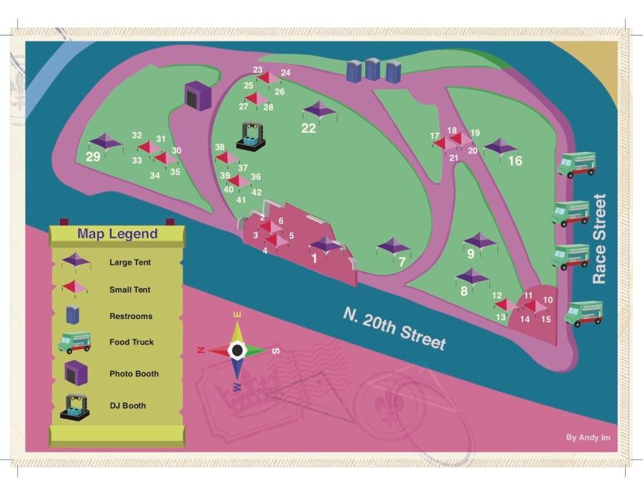 MightyFest Carnival FINAL MAP 2019
